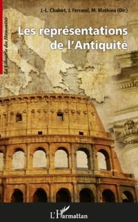 Cover Les representations de l'Antiquite