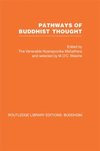 Cover Pathways of Buddhist Thought