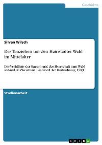 Cover Das Tauziehen um den Hainstädter Wald im Mittelalter