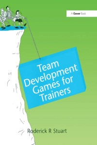 Cover Team Development Games for Trainers