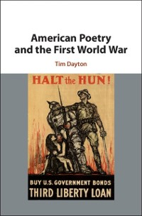 Cover American Poetry and the First World War