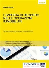 Cover L'imposta di registro nelle operazioni immobiliari