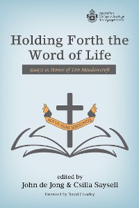 Cover Holding Forth the Word of Life