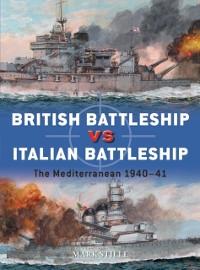 Cover British Battleship vs Italian Battleship