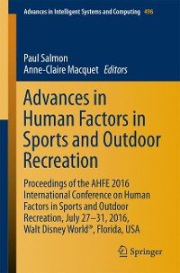 Cover Advances in Human Factors in Sports and Outdoor Recreation