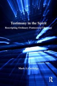 Cover Testimony in the Spirit