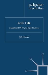 Cover Posh Talk