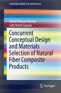 Cover Concurrent Conceptual Design and Materials Selection of Natural Fiber Composite Products