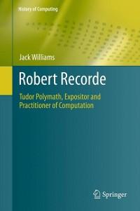 Cover Robert Recorde