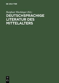 Cover Deutschsprachige Literatur des Mittelalters