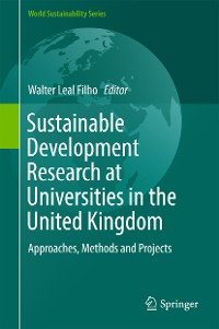Cover Sustainable Development Research at Universities in the United Kingdom