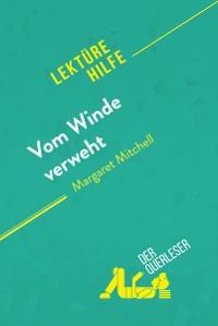 Cover Vom Winde verweht von Margaret Mitchell (Lektürehilfe)