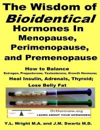 Cover The Wisdom of Bioidentical Hormones In Menopause, Perimenopause, and Premenopause : Balance Estrogen, Progesterone, Testosterone, Growth Hormone, Insulin, Adrenals, Thyroid; Lose Belly Fat