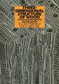 Cover Three-dimensional structure of wood