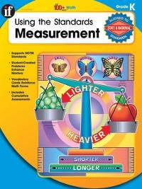 Cover Using the Standards - Measurement, Grade K