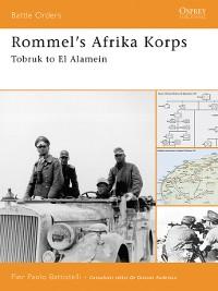 Cover Rommel's Afrika Korps