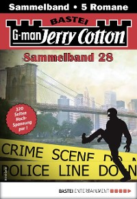 Cover Jerry Cotton Sammelband 28 - Krimi-Serie