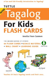 Cover Tuttle More Tagalog for Kids Flash Cards