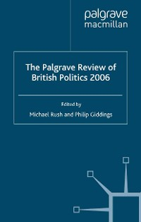 Cover The Palgrave Review of British Politics 2006
