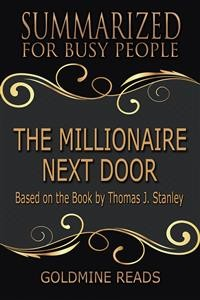 Cover The Millionaire Next Door  - Summarized for Busy People