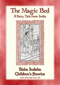 Cover THE MAGIC BED - A Fairy Tale from India