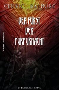 Cover Der Fürst der Purpurnacht