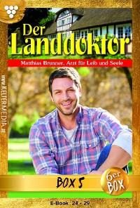 Cover Der Landdoktor Jubiläumsbox 5 – Arztroman
