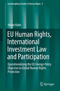 Cover EU Human Rights, International Investment Law and Participation
