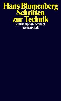 Cover Schriften zur Technik