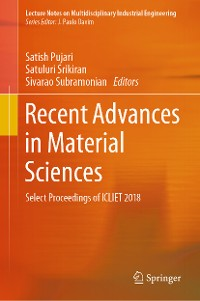 Cover Recent Advances in Material Sciences