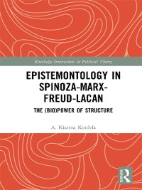 Cover Epistemontology in Spinoza-Marx-Freud-Lacan