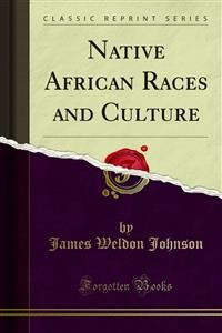 Cover Native African Races and Culture