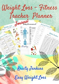 Cover Weight Loss Fitness Tracker Planner Journal
