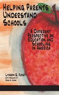 Cover Helping Parents Understand Schools