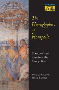 Cover The Hieroglyphics of Horapollo