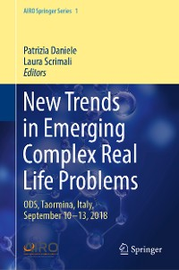 Cover New Trends in Emerging Complex Real Life Problems