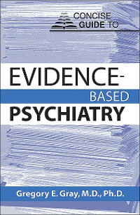 Cover Concise Guide to Evidence-Based Psychiatry