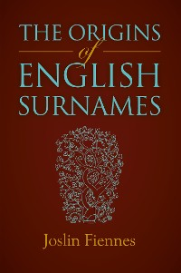 Cover Origins of English Surnames