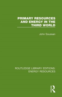 Cover Primary Resources and Energy in the Third World