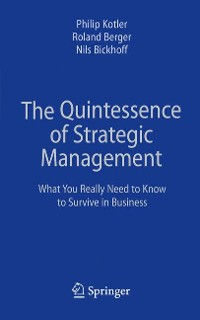 Cover The Quintessence of Strategic Management