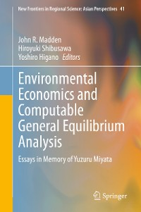 Cover Environmental Economics and Computable General Equilibrium Analysis