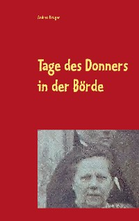 Cover Tage des Donners in der Börde