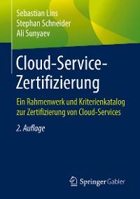 Cover Cloud-Service-Zertifizierung