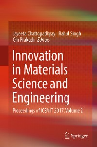 Cover Innovation in Materials Science and Engineering