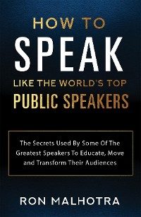 Cover How To Speak Like The World's Top Public Speakers
