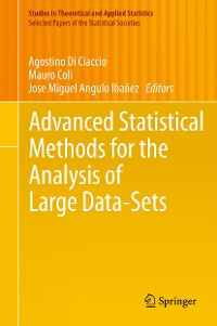 Cover Advanced Statistical Methods for the Analysis of Large Data-Sets