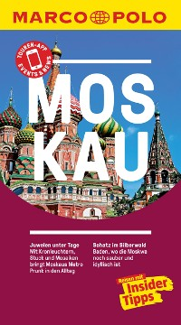 Cover MARCO POLO Reiseführer Moskau