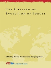 Cover The Continuing Evolution of Europe