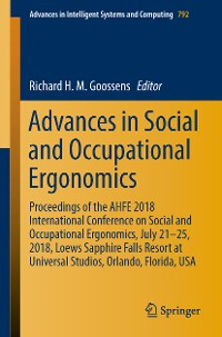 Cover Advances in Social and Occupational Ergonomics