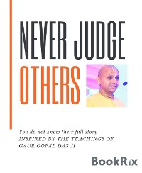 Cover Never Judge Others